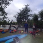 Camping with our Marlow Kayakers